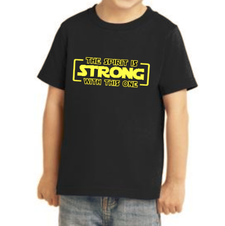 The Spirit Is Strong With This One Shirt (Toddler)