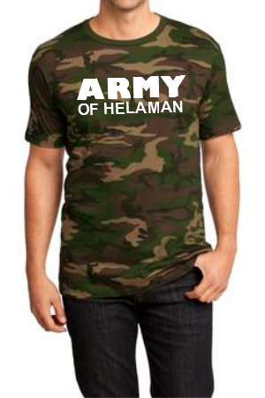 Army of Helaman Green Camo (Men's)
