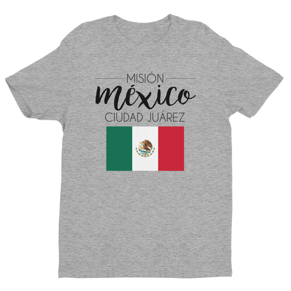 Men's Mexico Ciudad Juarez Mission shirt - black print