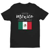 Men's Mexico Ciudad Juarez Shirt - white print