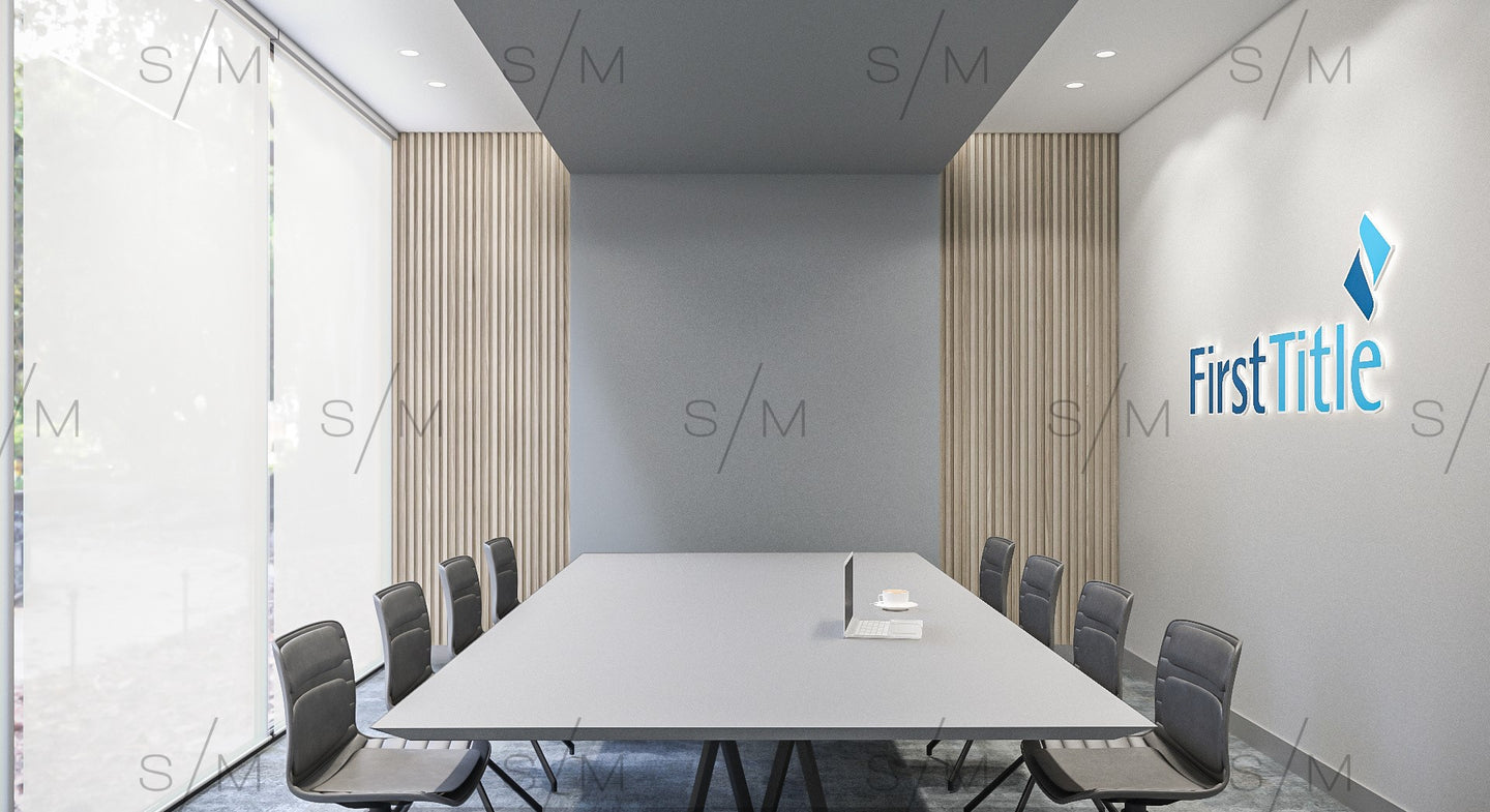 Virtual Background - Meeting Room - Template