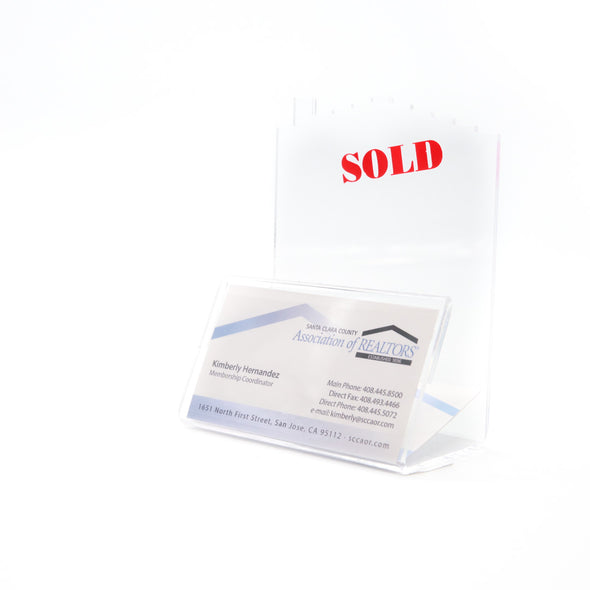 Business Card Holder-House SOLD