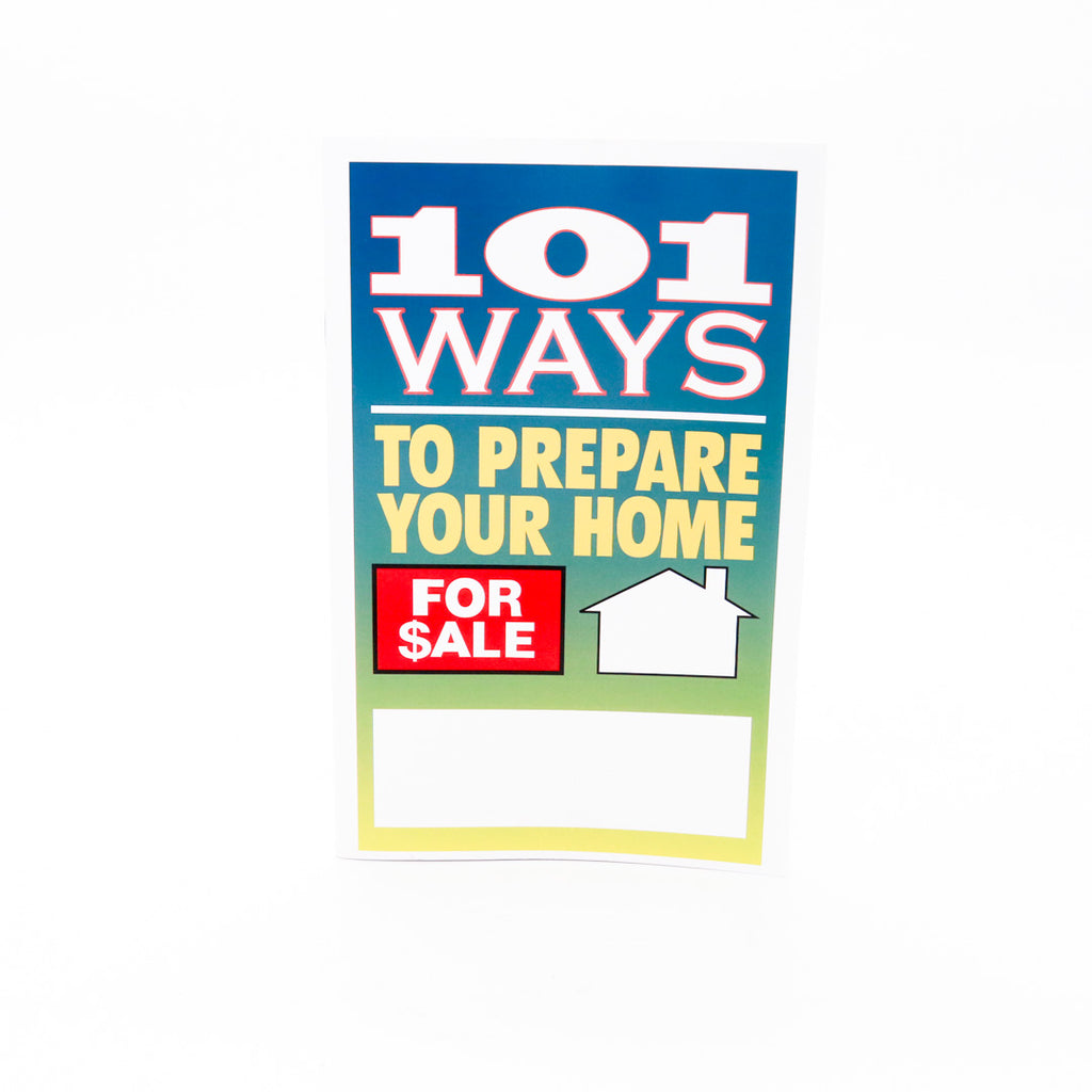 101 Ways To Prepare Home for Sale