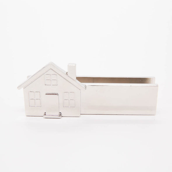 Business Card Holder-Metal House