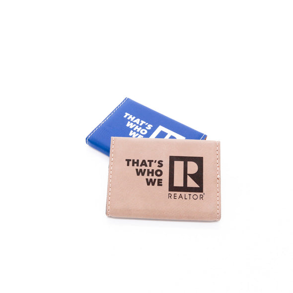 Business Card Holder-That's Who We R