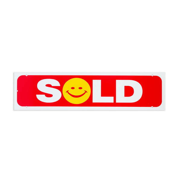 Rider Sign-SOLD (Happy Face)