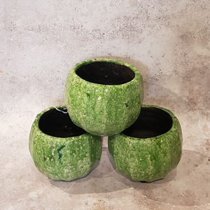 FOREST GREEN PLANT POT