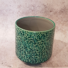 Load image into Gallery viewer, CERAMIC SUCCULENT PATTERN POT