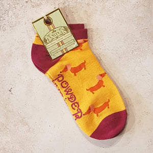SAUSAGE DOG TRAINER SOCKS
