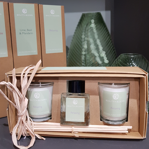 Relaxing Reed Diffuser and Candle Gift Set