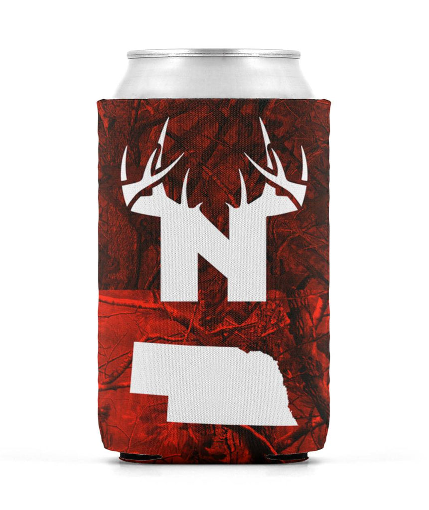 BoNE State & Antler Koozie Can Sleeve