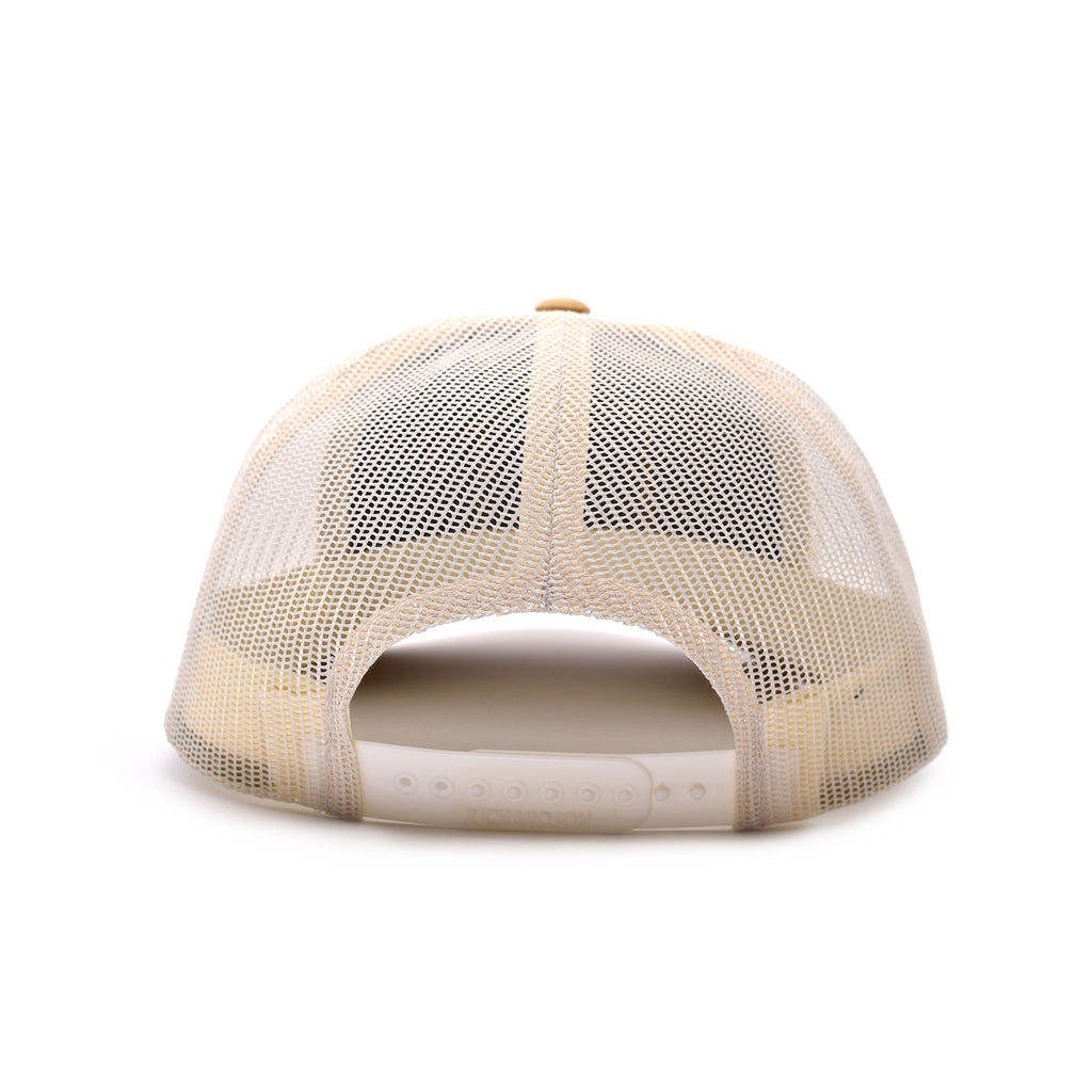 Fish On Patch Heather Grey / Birch / Amber Hat