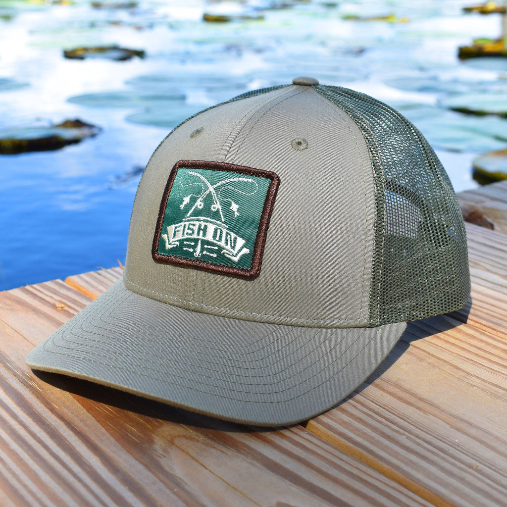 Fish On Patch Loden Hat