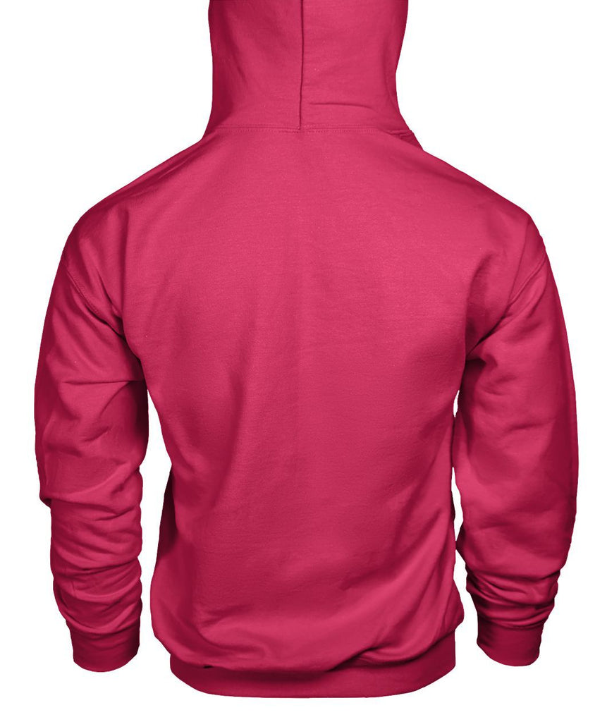 Bucks of Nebraska Logo Ladies Pink Hoodie Gildan Hoodie - Bucks of America