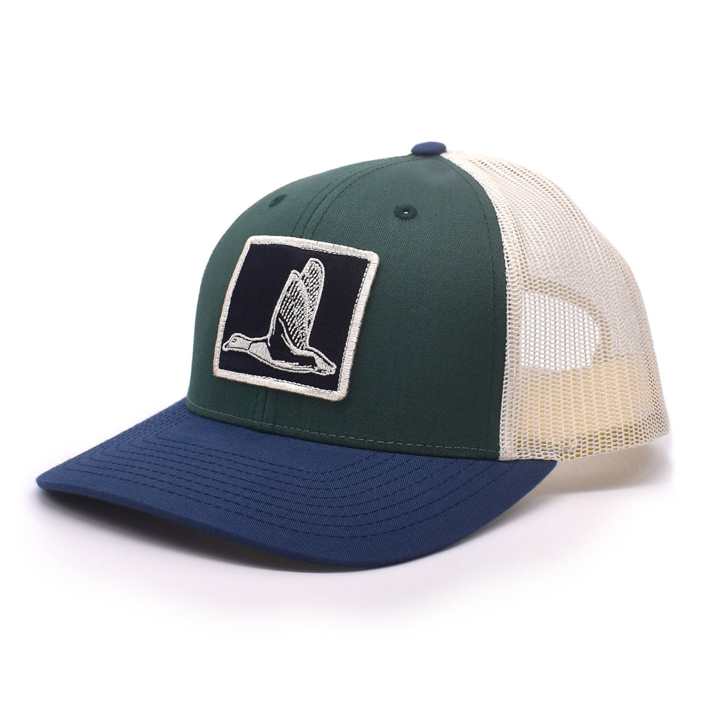 Duck Patch Spruce / Birch / Navy Hat