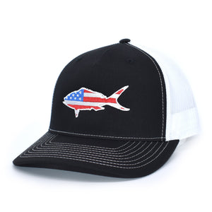 American Flag Amberjack Hat - Bucks of America