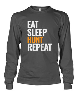 EAT SLEEP HUNT REPEAT - Orange