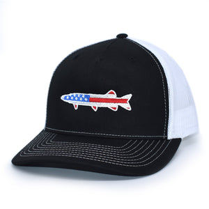 American Flag Muskie Hat - Bucks of America