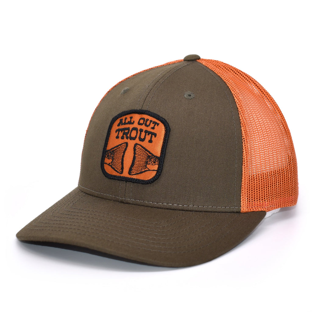 All Out Trout Patch Hat - Bucks of America