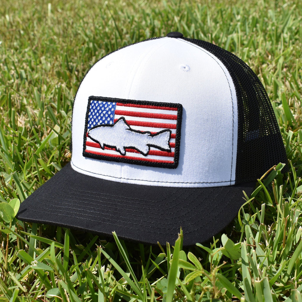 Trout of America  - White/Black