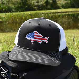 American Flag Snapper Hat - Bucks of America