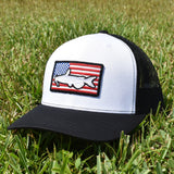 Catfish of America  - White/Black - Bucks of America