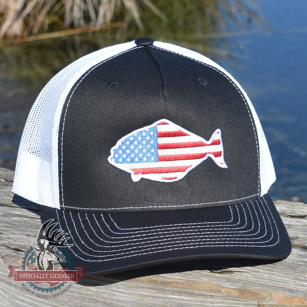 American Flag Halibut Hat - Bucks of America