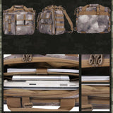 Military Camo Crossbody Handbag