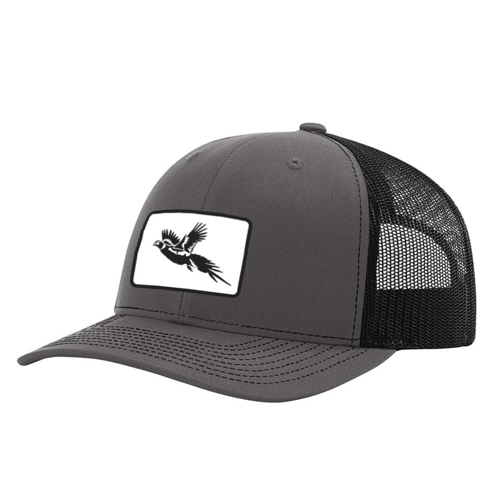 Pheasant Patch Charcoal / Black Hat
