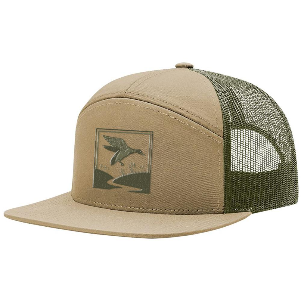 Duck Hunt Khaki & Loden Hat