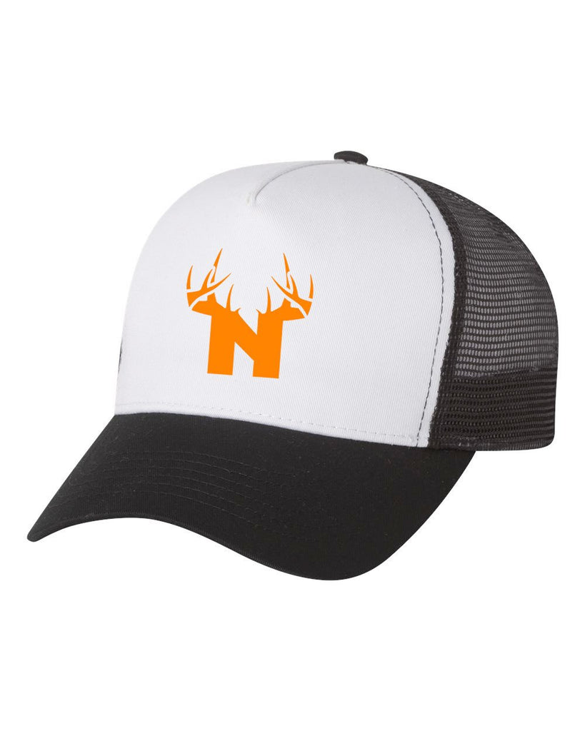 Bucks of Nebraska Orange N Trucker Cap - Bucks of America