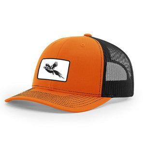 Pheasant Patch Orange / Black Hat