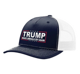 Make Liberals Cry Again Hat (Navy & White)