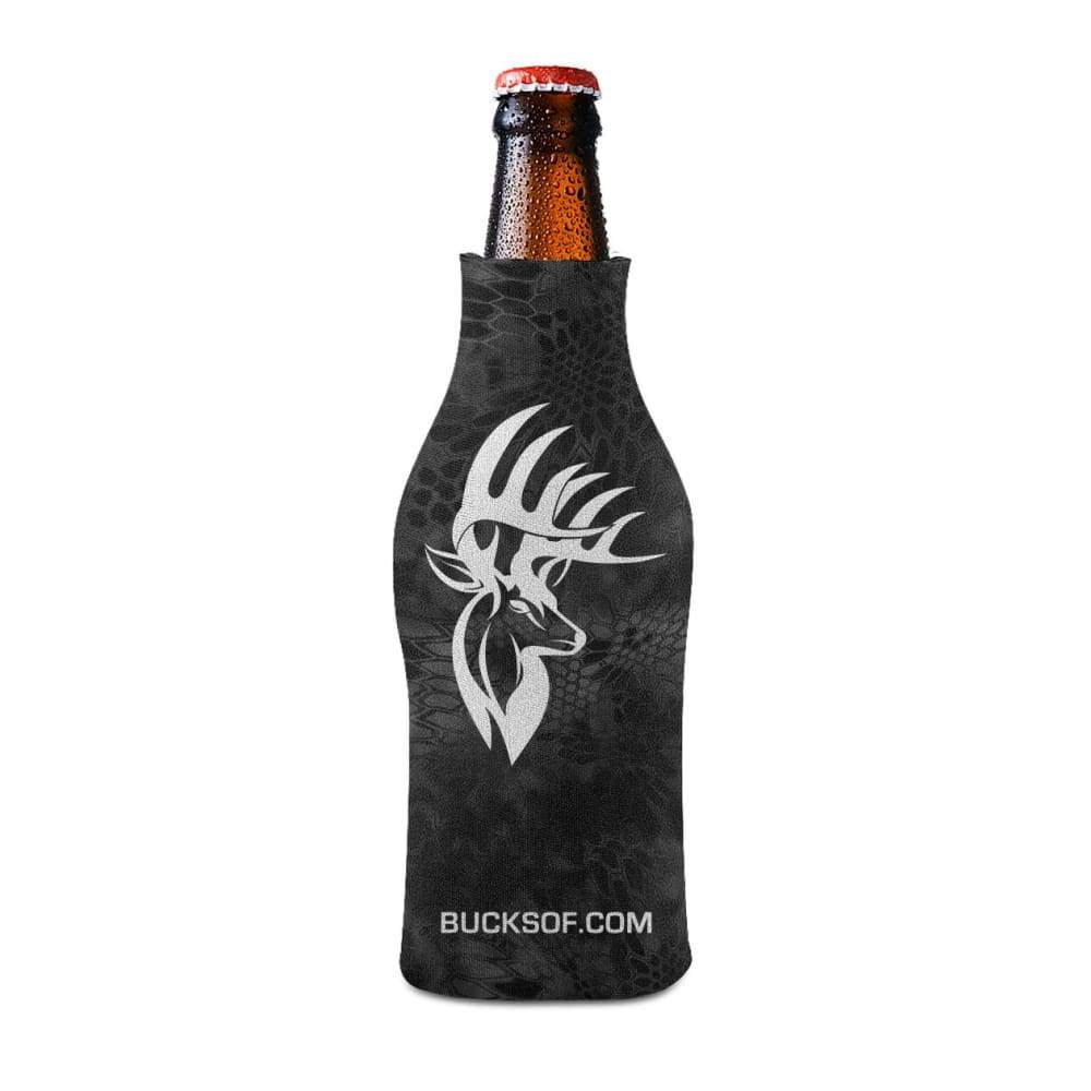 Bucks of America Bottle Koozie White / Black - Bucks of America