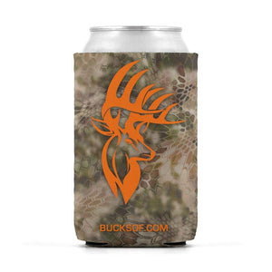 Bucks of America Can Koozie Orange / Camo - Bucks of America