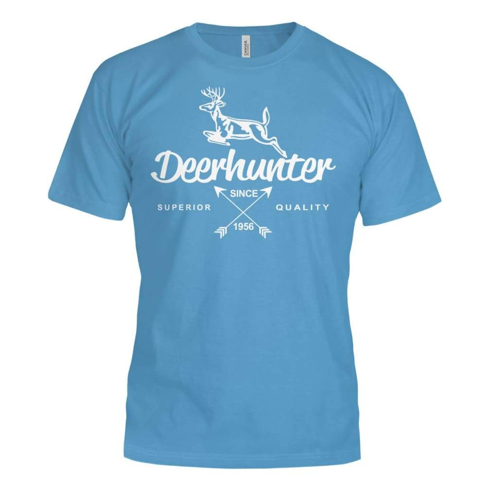 Deerhunter Classic Bella Canvas Tee - Aqua / S - Short Sleeves