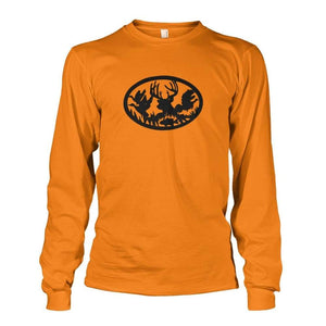 Hunting And Fishing Long Sleeve - Safety Orange / S - Long Sleeves