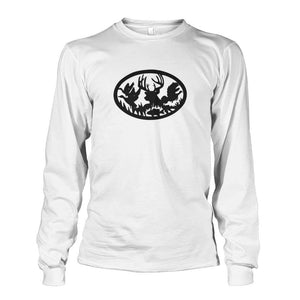 Hunting And Fishing Long Sleeve - White / S - Long Sleeves