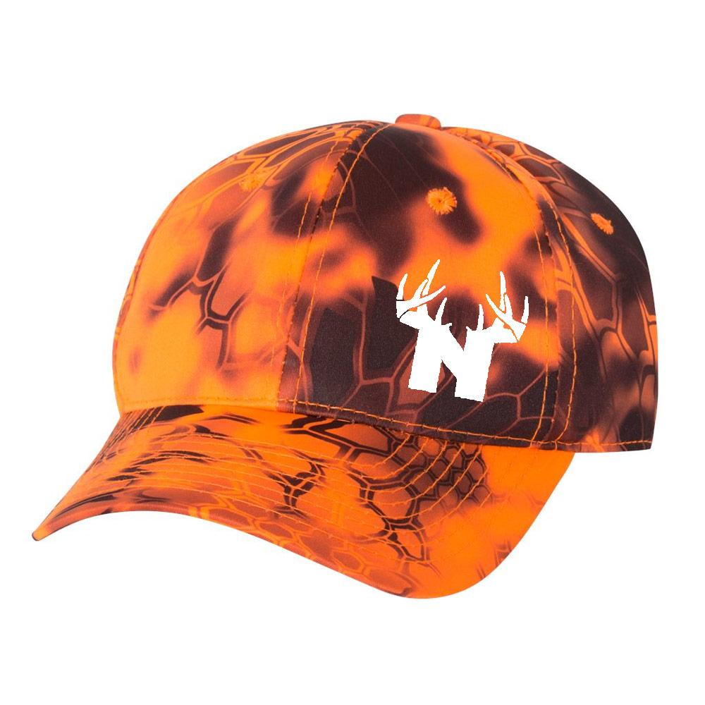 Bucks of Nebraska Antlers Hat - Kryptek Inferno - Bucks of America