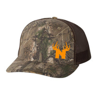 Bucks of Nebraska Antlers Trucker Hat - RealTree - Bucks of America
