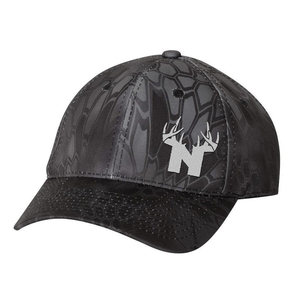 Bucks of Nebraska Antlers Hat - Kryptek Typhon - Bucks of America