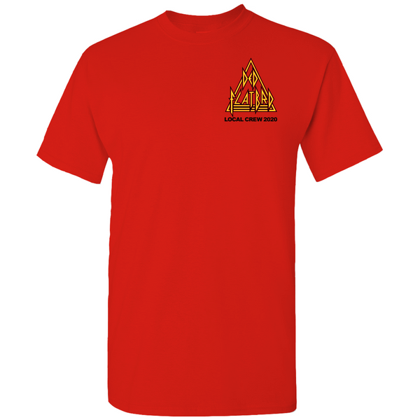 Ded Flatbrd Crew 2020 Red T-shirt