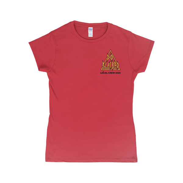 Ded Flatbrd Crew 2020 Women's Red T-Shirt