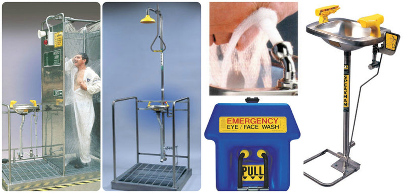 Safety Shower and Eyewash Features and Requirements