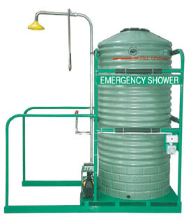 Fully Self Contained Emergency Safety Shower