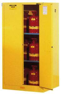 350 Litre Flammable Cabinet Open