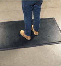 Anti Fatigue Mat Happy Feet - Grip Top