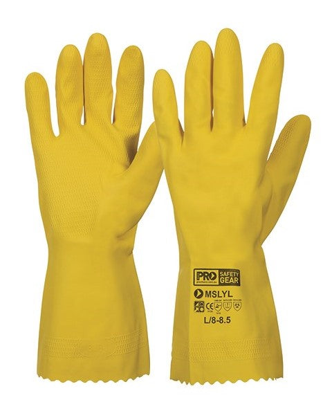Latex Rubber Gloves 30cm - Premium Blend