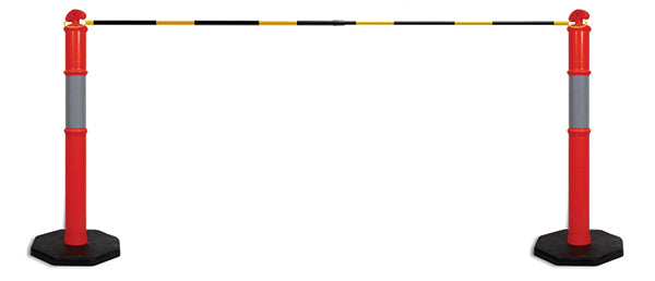 Traffic Cone Extension Bar Yellow Black