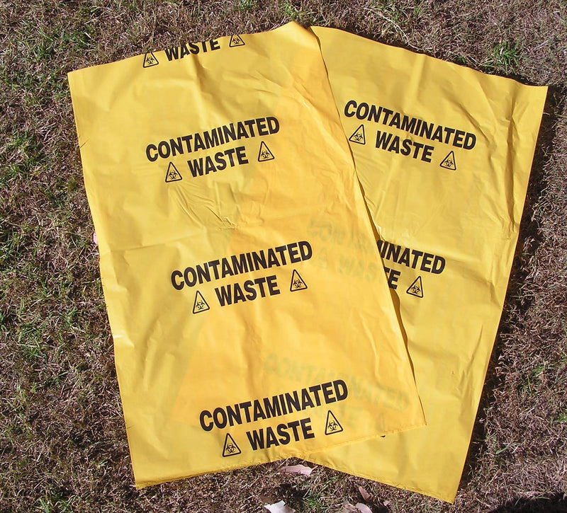 Spill Kit Contaminated Waste Bags - 10 Pk